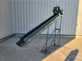 8 in. x 10 ft. 8 in. Incline Cleated Belt Conveyor