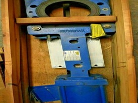 Warman Weir 6 in. Knife Gate Valve