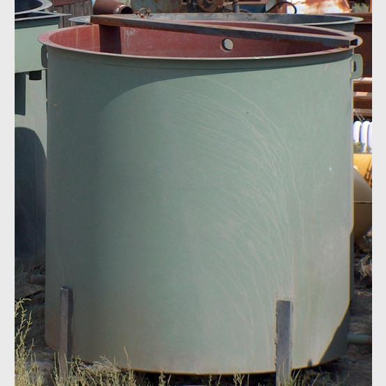 1200 Gallon Open Top Steel Tank 1200 Gallon Open Top