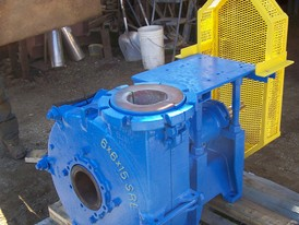 Allis Chalmers 6 x 6 x 15 SRL Slurry Pump