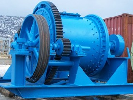 Union Ironworks 48 in x 54 in Ball Mill
